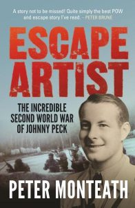 Book Cover: Escape Artist: The Incredible Second World War of Johnny Peck